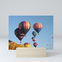 Balloons Arising Mini Art Print