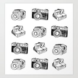 Film Camera Print Art Print