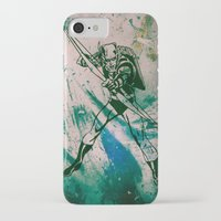 green arrow iPhone & iPod Cases featuring GREEN ARROW by Zorio
