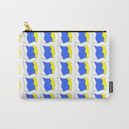 flag of canary islands-canaries,canary,atlantic,canarias,Canarian,canario,canaria,spain,spanish, Carry-All Pouch
