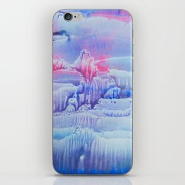 blue underwater world 3 iPhone Skin