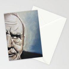 Elderly Man Stationery Cards
