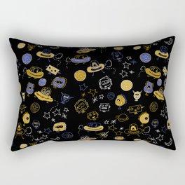 Don't be blue, we are all a little alien Rectangular Pillow