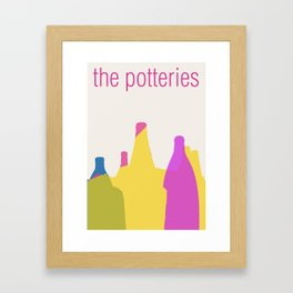 The Potteries Framed Art Print