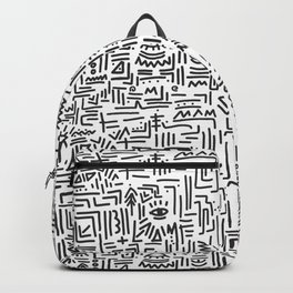Tipsy pattern Backpack