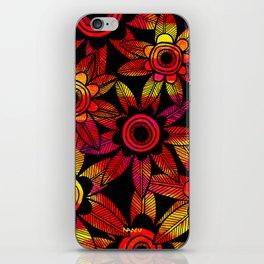 Big Floral 1 iPhone Skin
