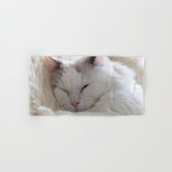 Ragdoll Cat Cuddles Hand & Bath Towel