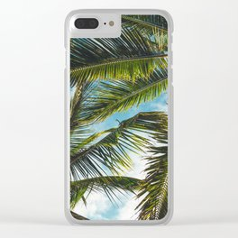 Tropical bliss Clear iPhone Case