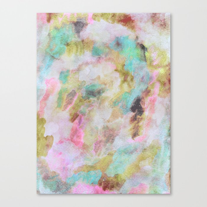 Abstract Clouds Canvas Print