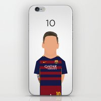 messi iPhone & iPod Skins featuring Leo Messi by Joel Pons