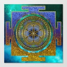 Yantra Mantra Mandala #1 Canvas Print