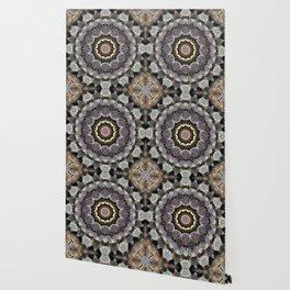 Mushroom mandala 4 Wallpaper