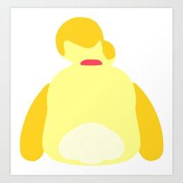 Isabelle - Animal Crossing Art Print