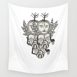 New life, old stones Wall Tapestry