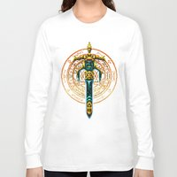 castlevania Long Sleeve T-shirts featuring Bloody Sword by Naavech Verro