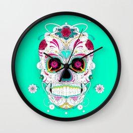 Calavera Wall Clock