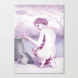 The Bather Canvas Print