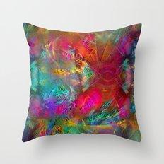 Meadow (Visual Artist Frank Bonilla) Throw Pillow