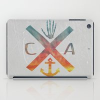 california iPad Cases featuring California by Last Call