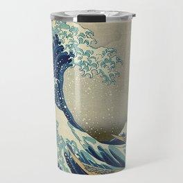 THE GREAT WAVE OFF KANAGAWA - KATSUSHIKA HOKUSAI Travel Mug