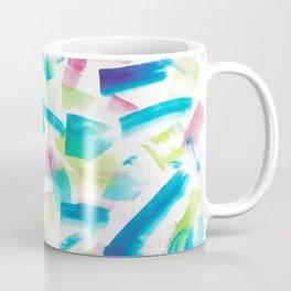 180719 Koh-I-Noor Watercolour Abstract 9 | Watercolor Brush Strokes Coffee Mug