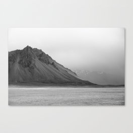 Mountain in Iceland Canvas Print
