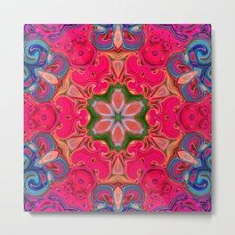 Star Flower of Symmetry 615 Metal Print