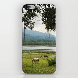 Honduras - A quiet Wednesday iPhone Skin
