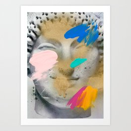 Composition 514 Art Print