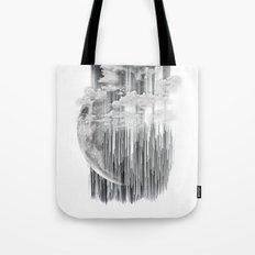 Planet Pixel Deep White Tote Bag