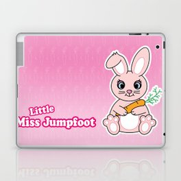 Little Miss Jumpfoot Laptop & iPad Skin