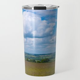 Looking across the Cotswolds, England Travel Mug