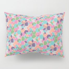 Random Isometric Pattern Pillow Sham