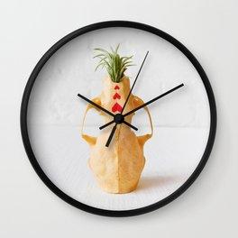 Mink Skull Garden Wall Clock