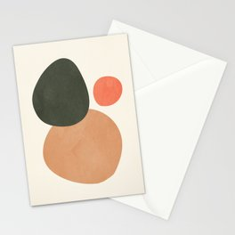 abstract minimal 21 Stationery Cards