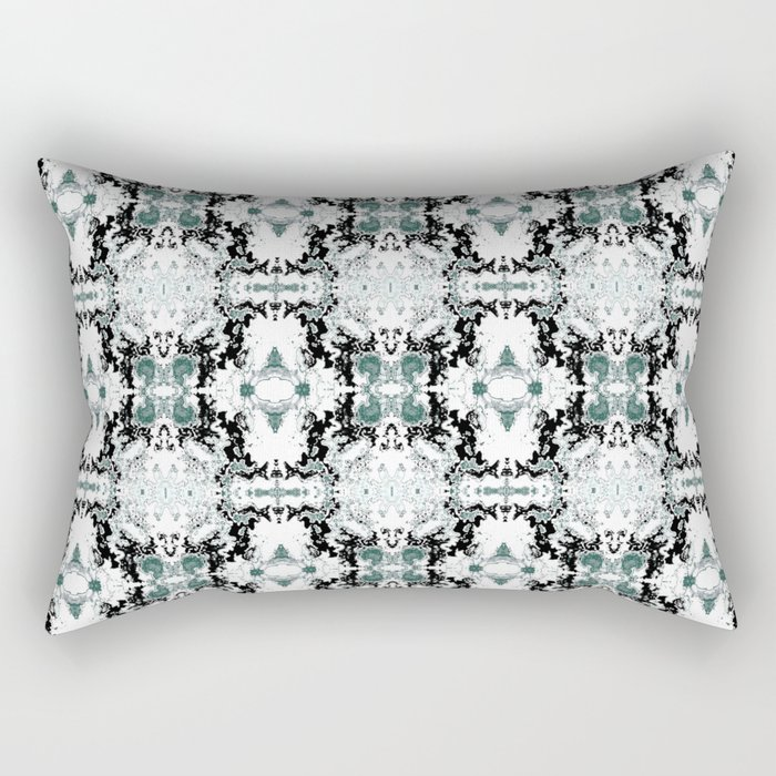 grey basket weave Rectangular Pillow