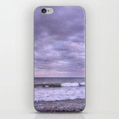 Rain storm at the sea iPhone & iPod Skin