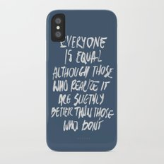 Equal Slim Case iPhone X
