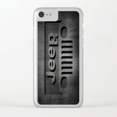 Black Jeep Clear iPhone Case