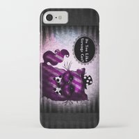 cheshire cat iPhone & iPod Cases featuring Cheshire Cat by AKIKO