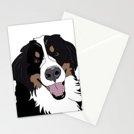 Angus the Bernese Mountain Dog Stationery Cards