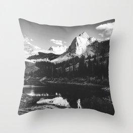 The Blanche Sundial Throw Pillow