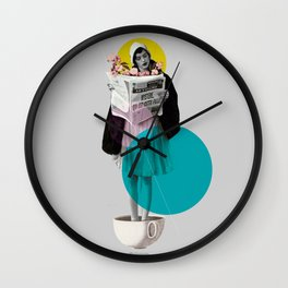 news int the morning Wall Clock