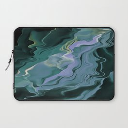 Teal Turbulence Laptop Sleeve