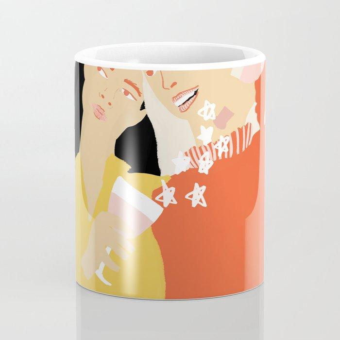 Best Friends and Wine Coffee Mug