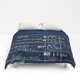 Library Card 23322 Negative Comforters