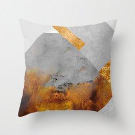 Modern Mountain No6-P1 Throw Pillow