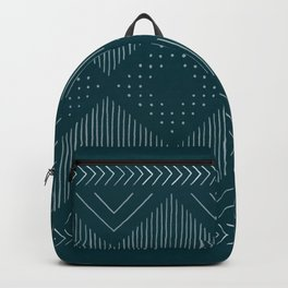 Teal Geo Backpack