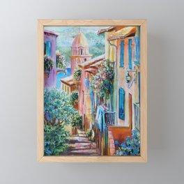Colors of Collioure, France Framed Mini Art Print