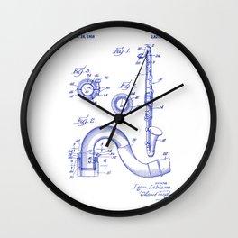 Bass Clarinet Woodwind Symphony Orchestra Wall Clock
